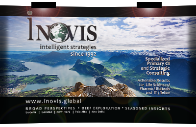 INOVIS conference booth